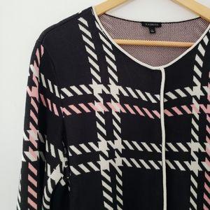 Talbots || Herringbone Plaid Sweater Cardi…